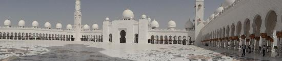 Sheikh  Zayed Mosque: Panoramic view