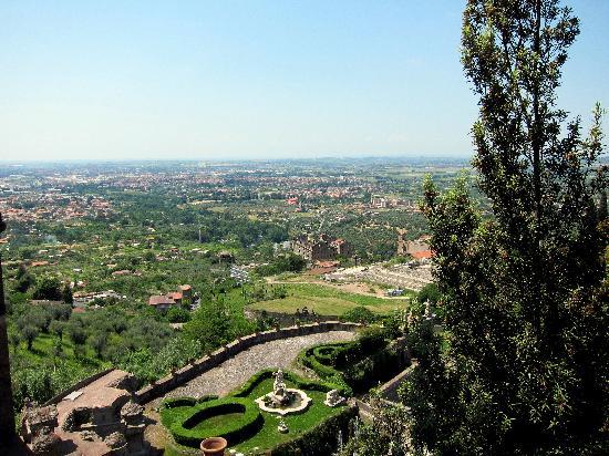 Villa d'Este: Beautiful scenery
