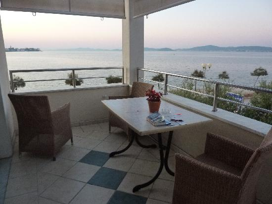 Villa Ivana: our wonderful deck and the view