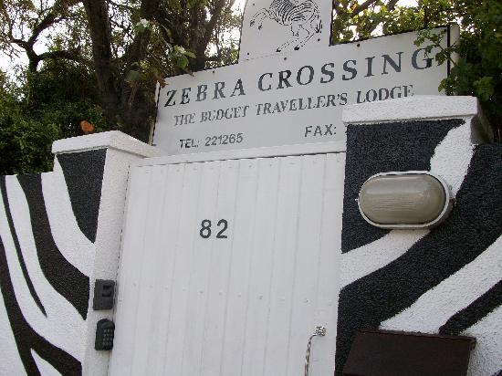 Zebra Crossing: The place.
