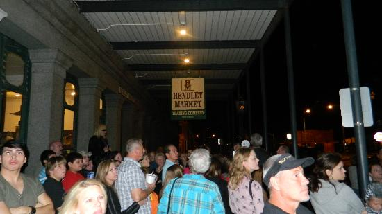 Ghost Tours of Galveston: This is the group we were in.