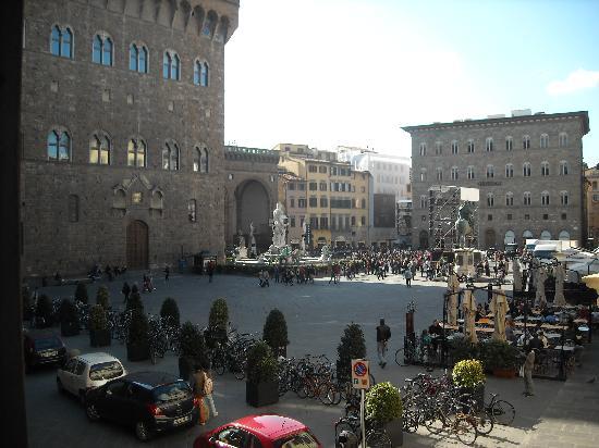 Residenza d'Epoca in Piazza della Signoria: View from our room