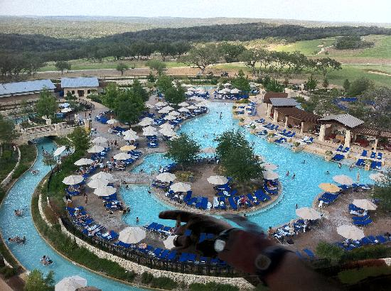 View Of The Pool From Our Balcony Picture Of Jw Marriott