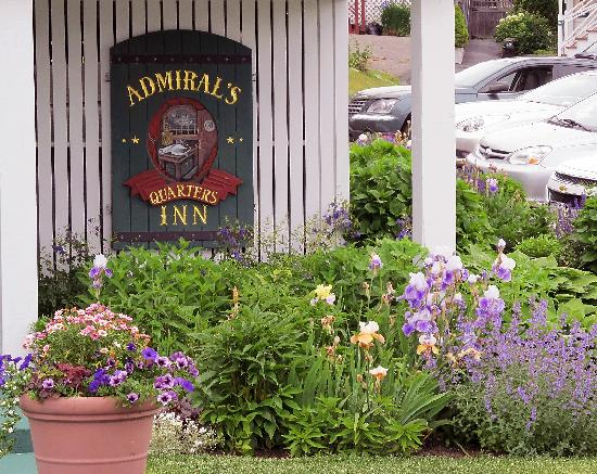 The Admirals Quarters Inn: Beautifully Maintained