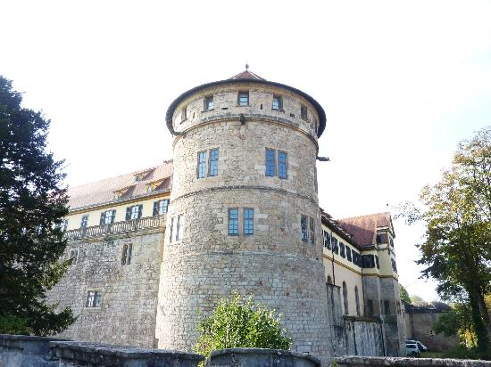 Hohentubingen Castle (Schloss): Castle tower?