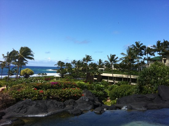Grand Hyatt Kauai Resort & Spa: view of lagoons and ocean