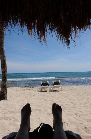 Mayan Palace Riviera Maya: Enjoying the Beach at Mayan Palace