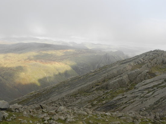 Seascale, UK: Bowfell's great slab