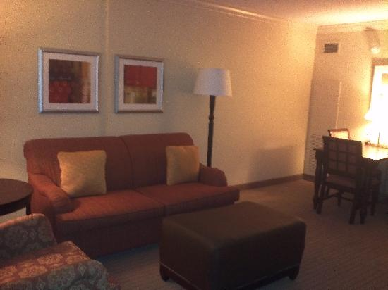 ‪‪Embassy Suites by Hilton Tampa Brandon‬: living room‬