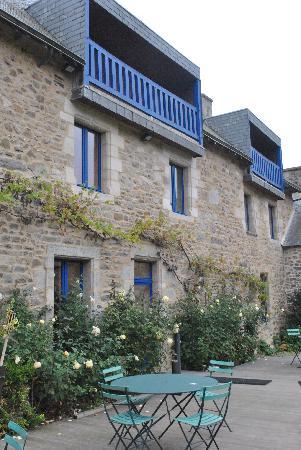 Manoir des Portes : La terrasse