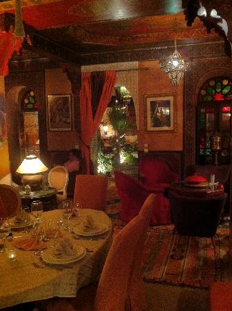 Riad Bab Janna : Un des coins salon