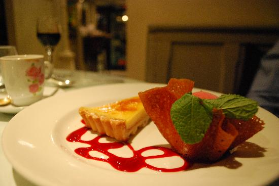 Dessert at Shandon Belles