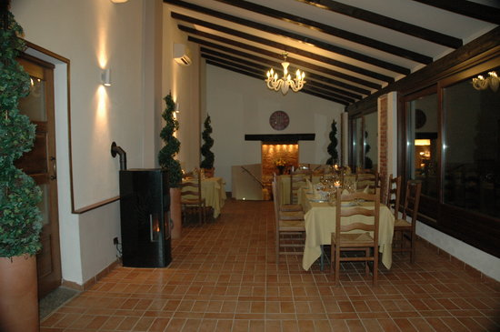 Refrancore, Italy: Inside of the dining room
