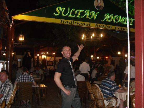 Sultan Ahmet Restaurant: Murat- The proud Owner!