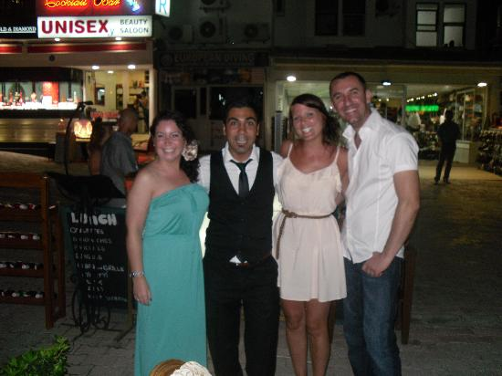 Sultan Ahmet Restaurant: Us and the guys