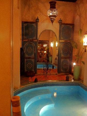 Riad Bab Janna : le jacuzzi