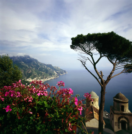 Ravello looking down