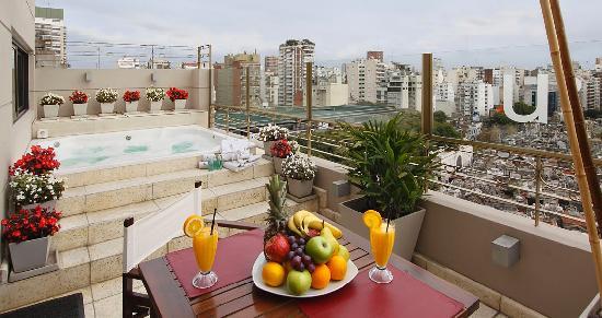 Urban Suites Recoleta Boutique Hotel: Terraza