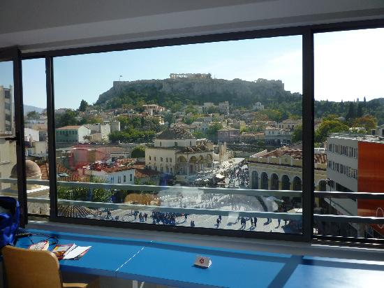 A for Athens: Panoramic Acropolis view: room 42