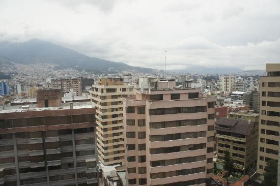Swissotel Quito: Room view