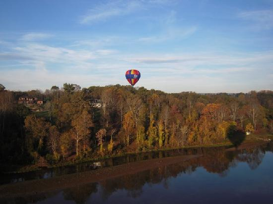 Iris Inn: from our balloon