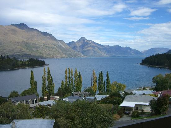 Earnslaw Lodge: Amazing views from our room.