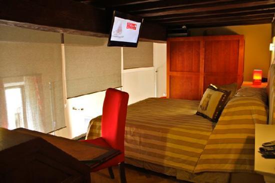 A Suite in Florence: Bedroom Loft del Principe