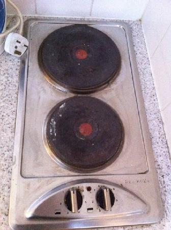 La plaque de cuisson picture of camelot house hotel for Taille plaque de cuisson
