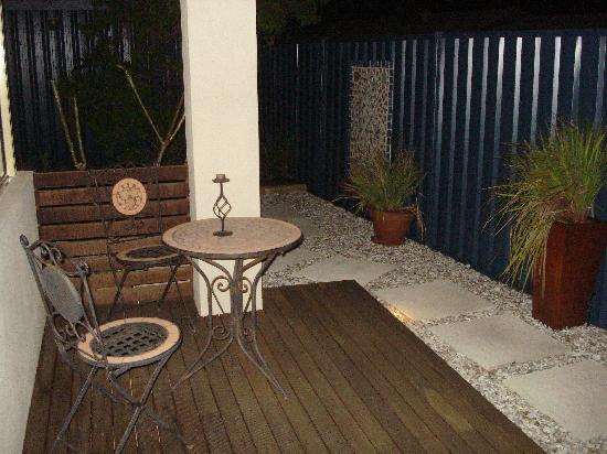 Albacore B&B: Private Outdoor area