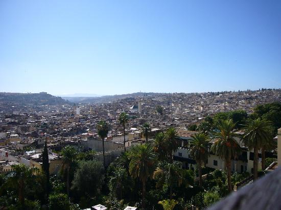 Sofitel Fes Palais Jamai: vue sur la medina