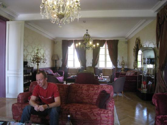 Le Relais de Franc Mayne: Common room