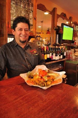 Antonio's TheTaste of Mexico : seafood paella @ Antonios