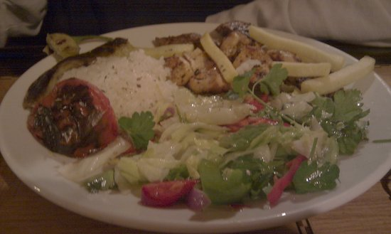 The Turkish Kitchen : Mixed grill