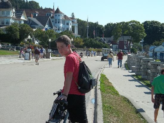 Mackinac Island State Park: Begin the biking...