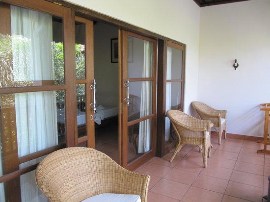 Liberty Dive Resort: Balcony