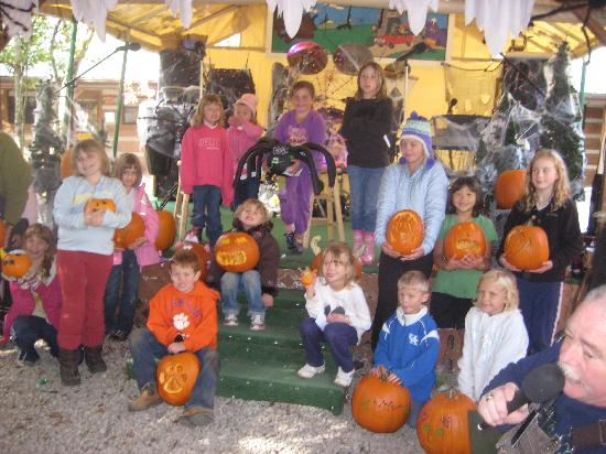 Imagination Mountain Camp-Resort: Pumpkin carving