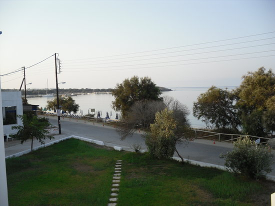 Agia Anna, Yunanistan: View from the balcony