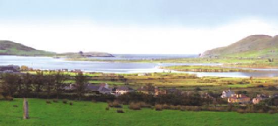 O'Sheas B & B: view of Cahersiveen Town