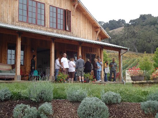 Stagecoach Wine Tours Santa Ynez: First winery, beautiful and amazing wine!