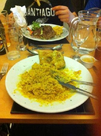 Edgbaston Palace Hotel: amazing food yum!!