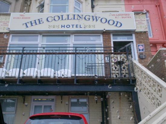 The Coast: The front of the Collingwood hotel