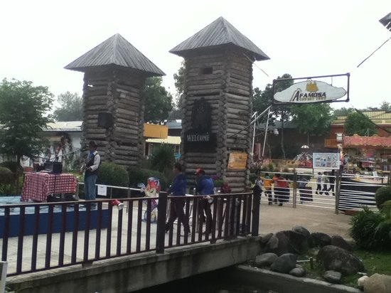 A'Famosa Cowboy Town: Entrance of Cowboytown!