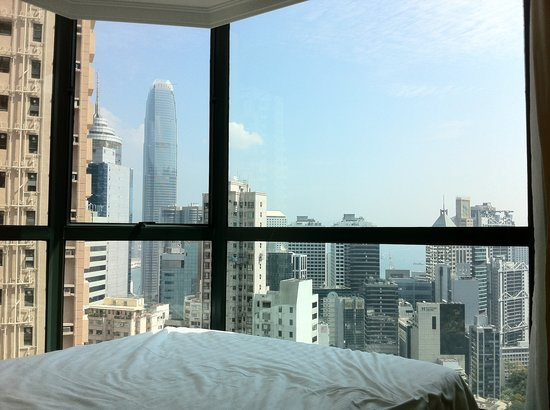 Bishop Lei International House: View from bedroom