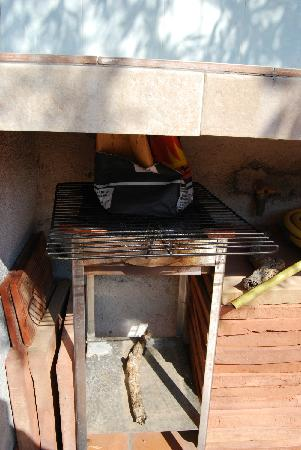 L'Arca : The BBQ that goes with the small studio room