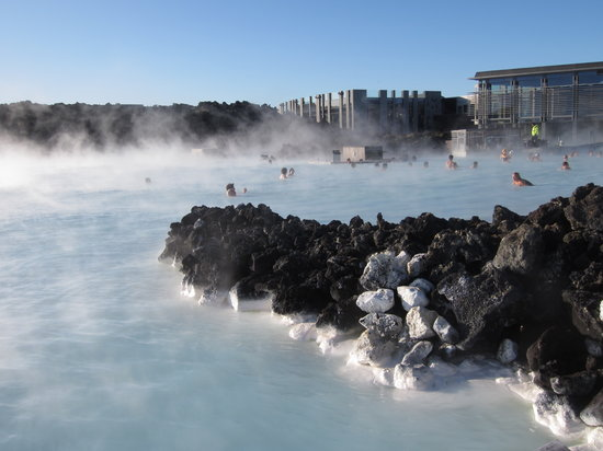 Stunning view of the Blue Lagoon