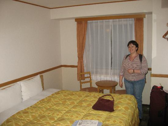 Toyoko Inn Ikebukuro Kita-guchi 2: Small, adequate room