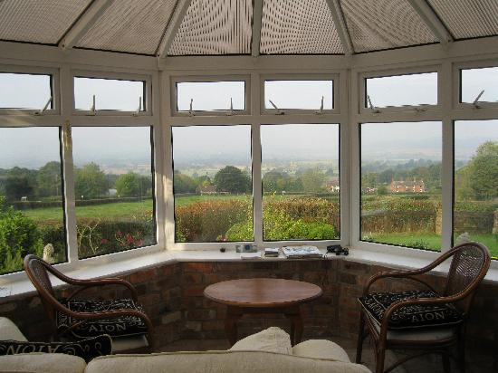 Angel House Bed & Breakfast: The view from the guest room downstairs