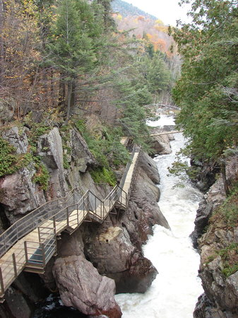 Wilmington, NY: View looking down the Gorge
