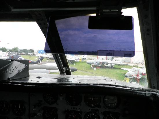 Midland Air Museum: View from the flightdeck