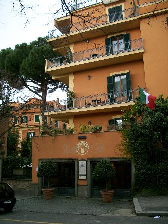 Hotel Villa San Pio: Ingreso al Hotel